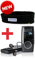 SleepPhones plus MP3 Player Bundle