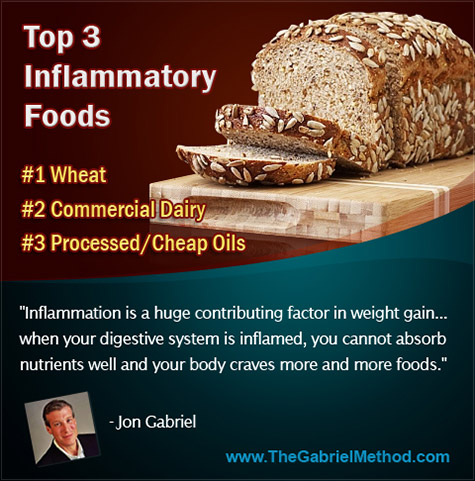 top 3 anti-inflammatory foods