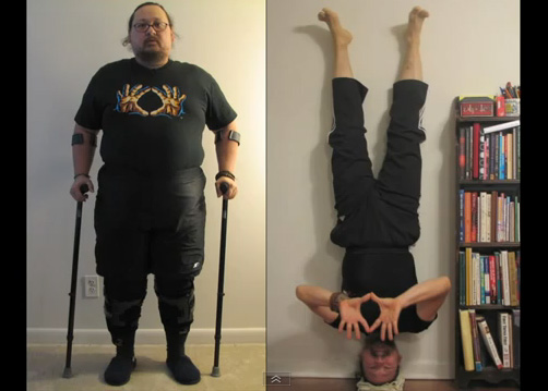 ABOUT THIS VIDEO Arthur Was An Overweight Disabled Veteran Of The Gulf War And Told By His Doctors That He Would Never Be Able To Walk On Own