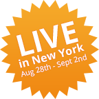 Live in New York Aug 28 - Sept 2