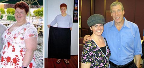 Sarah Howard who lost an amazing 167 pounds