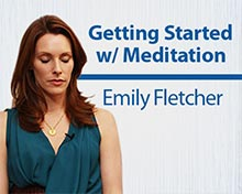 FREE BONUS #3:Getting Started w/ Meditation (video class)