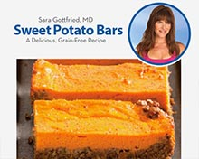 FREE BONUS #8:Sweet Potato Bars (pdf)