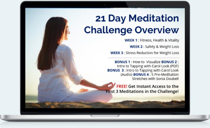 21 Day Meditation Entire Collection Banner Laptop