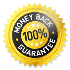 100% Money Back Guaranttee