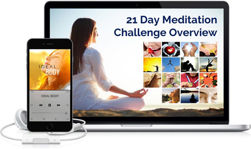 21-Day Meditation for Weight Loss Challenge Image