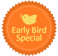 early bird tag