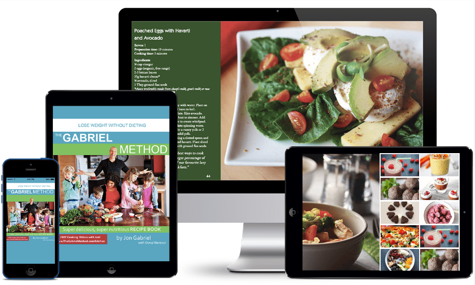 The Gabriel Method Super Delicious / Super Nutritious e-Recipe Book