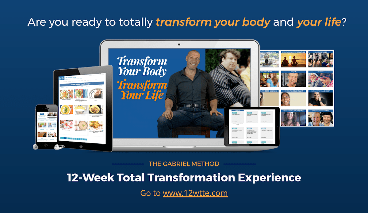 12 week total transformation experience banner