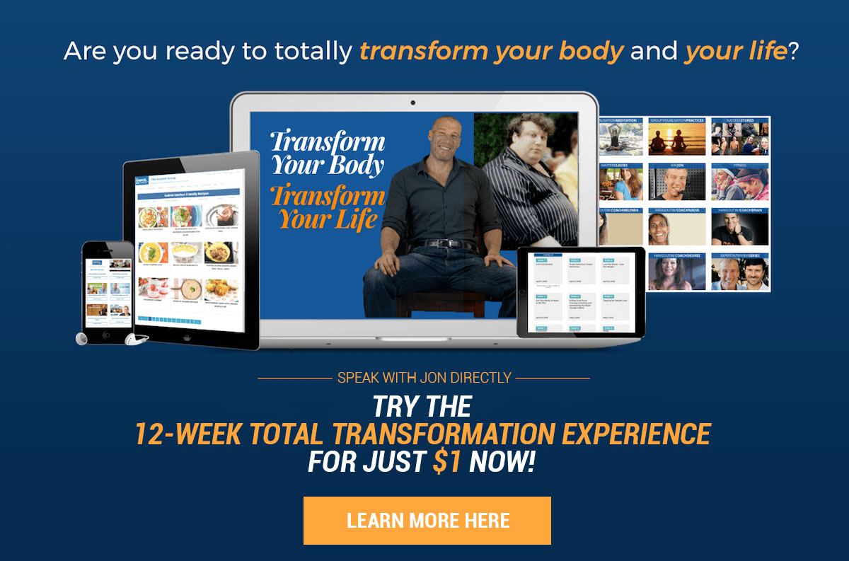 12 Week Total Transformation Banner