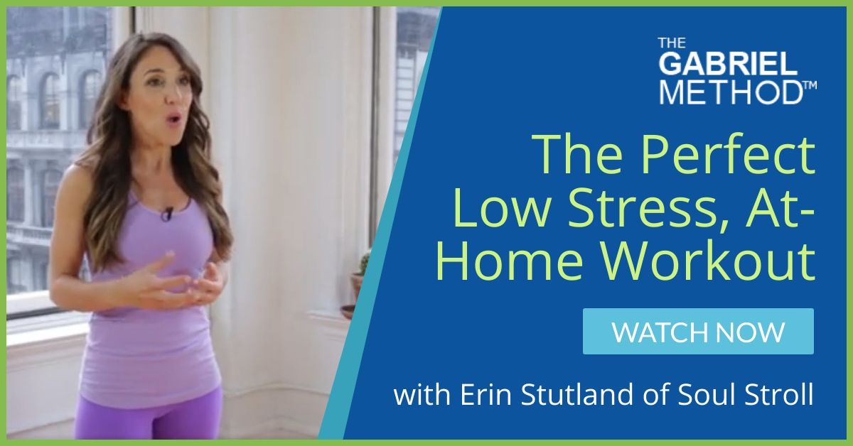 The Perfect Low Stress, At-Home Workout with Erin Stutland of Soul Stroll