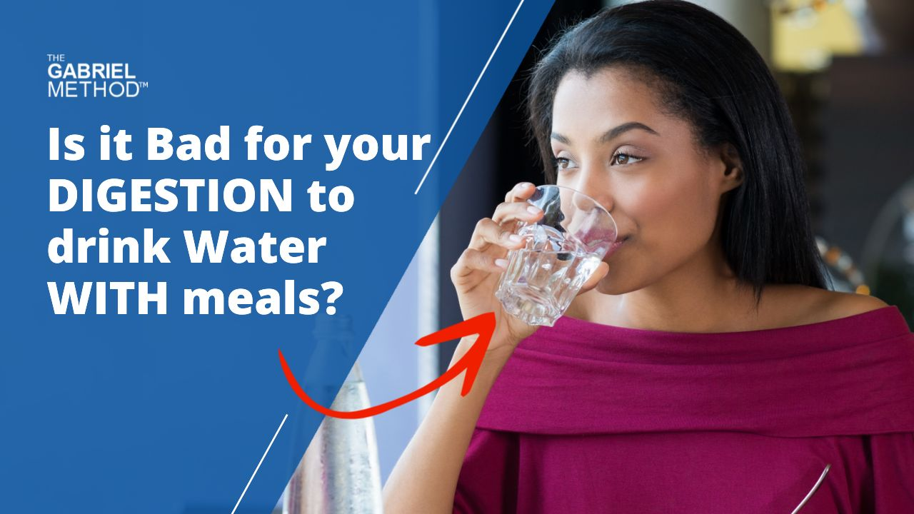 Should you drink water before, during, or after your meals?